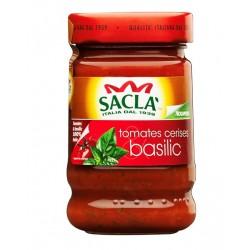 Sauce tomates cerises et basilic -Saclà