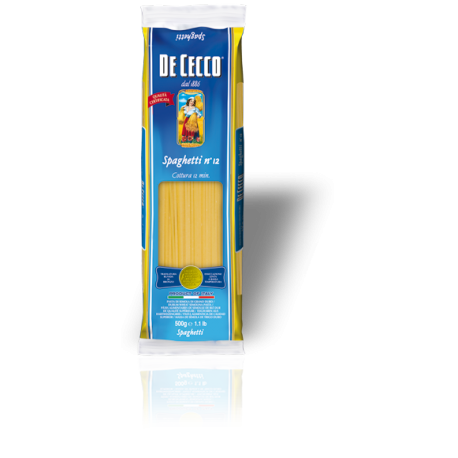 Pâtes Spaghettini 11-De Cecco