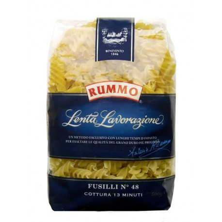 Pâtes Rummo Fusilli n°48 paquet de 500grs