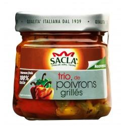 Trio de poivrons grillés -Saclà