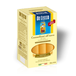 Cannelloni aux oeufs -De Cecco