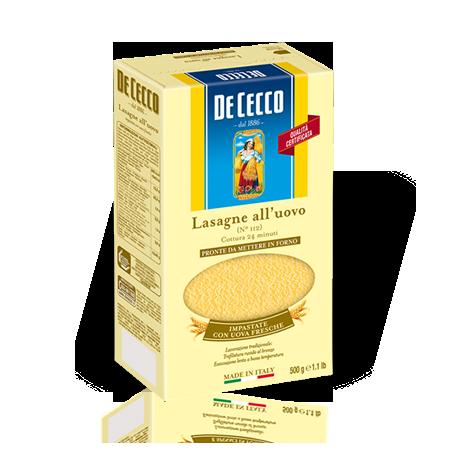 Lasagne aux oeufs - De Cecco