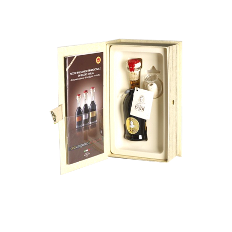 Vinaigre Balsamique Traditionnel de Reggio Emilia 25 ans d'âge.