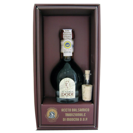 Vinaigre Balsamique Traditionnel de Modène 12 ans d'âge.